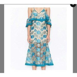 Brand new alice McCALL off-shoulder maxi dress in